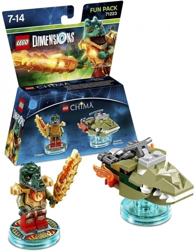 Lego Dimensions Fun Pack Chima Cragger Warner bros kopen