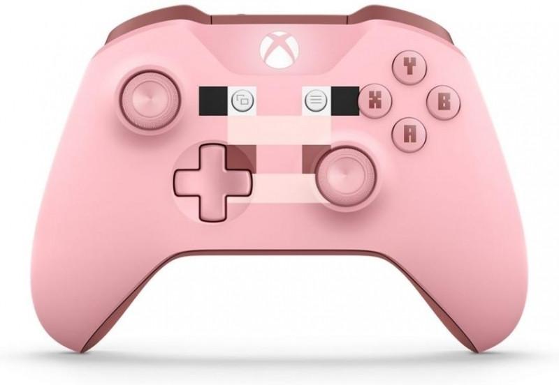 Microsoft Xbox One Wireless Controller (bluetooth) (Minecraft Pig)