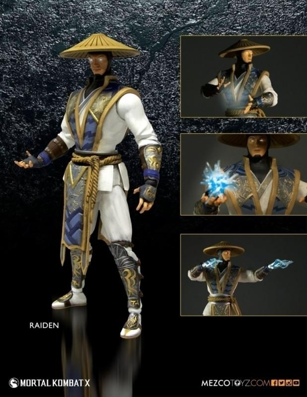 Mortal Kombat X Action Figure: Raiden (15cm) kopen