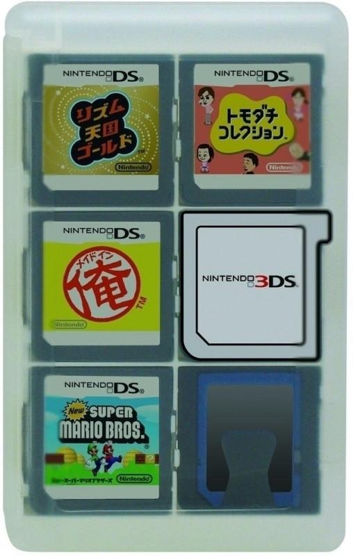 Hori Hori, Game Card Case 24 (Clear) 3DS (3DS-022U)