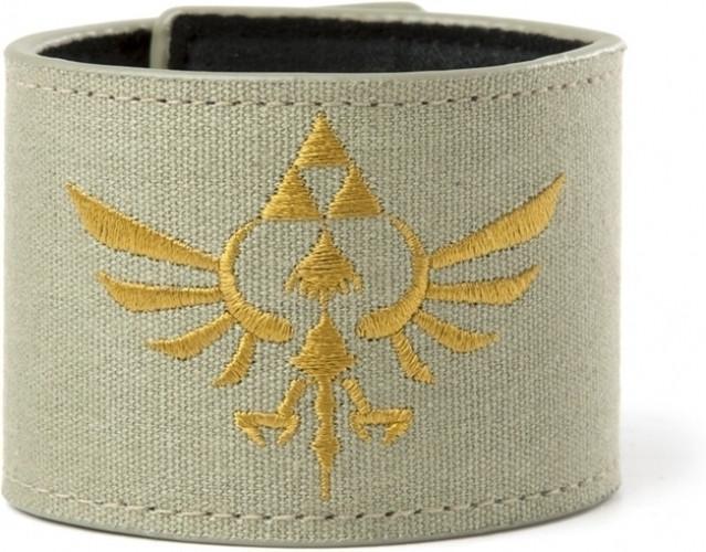 Nintendo Zelda Canvas Velcro Wristband (groen)