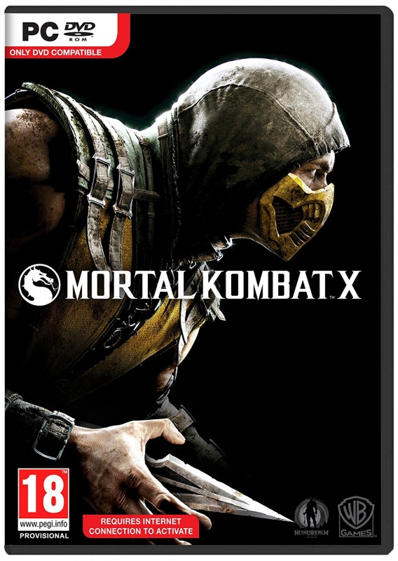PC DVD Mortal Kombat X