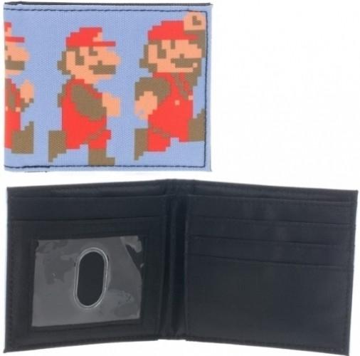 Nintendo Rennende En Springende Pixel Mario Portemonnee