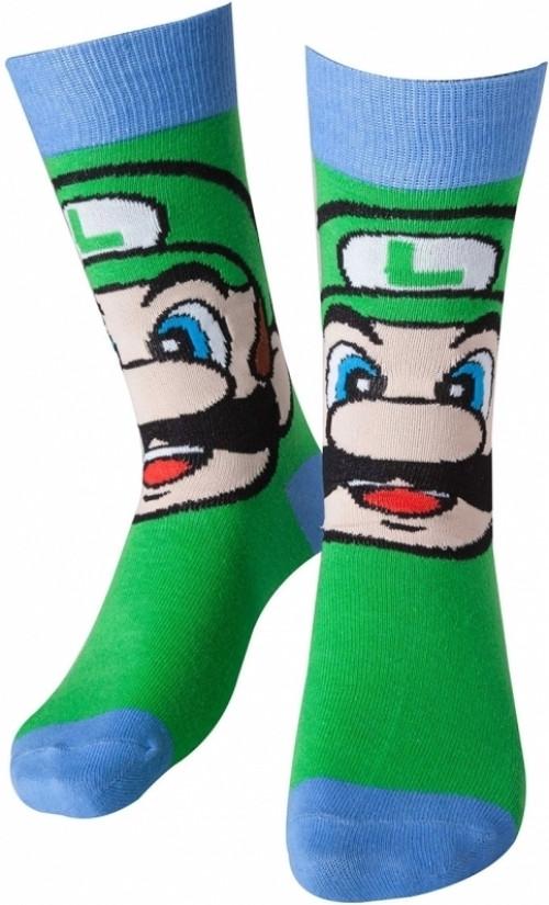 Nintendo - Luigi Crew Socks