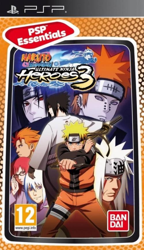Image of Namco Bandai Games Naruto Shippuden Ultimate Ninja Heroes 3