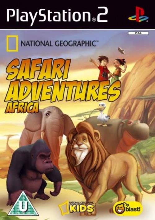 Image of Safari Avonturen Afrika (National Geographic)