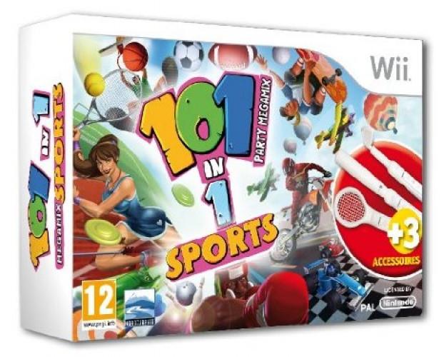 Image of 101 Megamix Sportgames Bundle (incl. 3 accessoires)