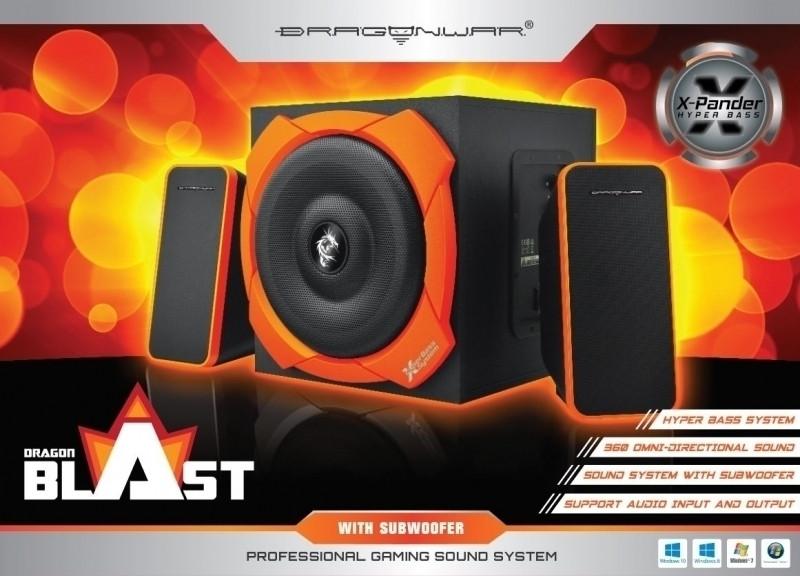 Dragon War Dragon Blast 2.1 Sound System