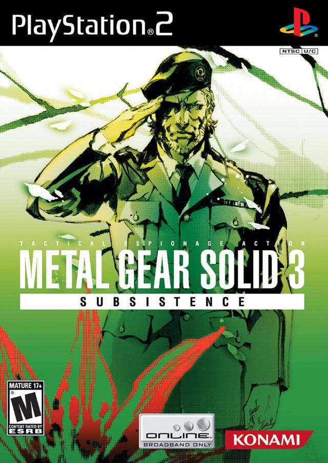 Metal Gear Solid 3 Subsistance kopen