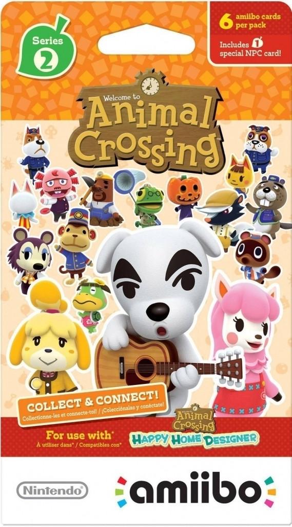 Animal Crossing Amiibo Cards Serie 2 (1 pakje) (6 kaarten) kopen