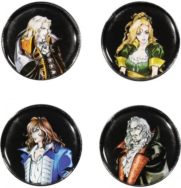 Castlevania - Symphony of the Night Pin Set kopen