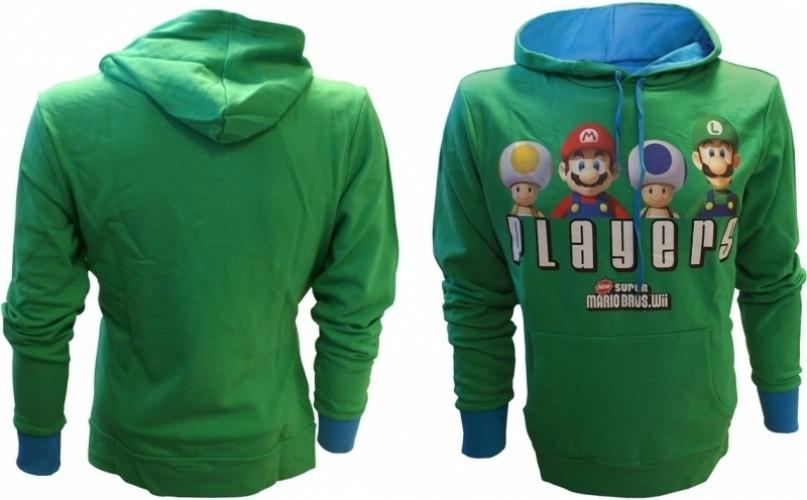 Nintendo - Players Green Hoodie