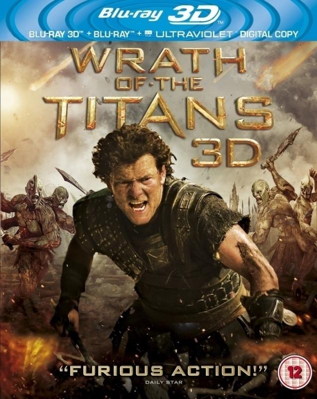 Wrath of the Titans 3D (3D & 2D Blu-ray)