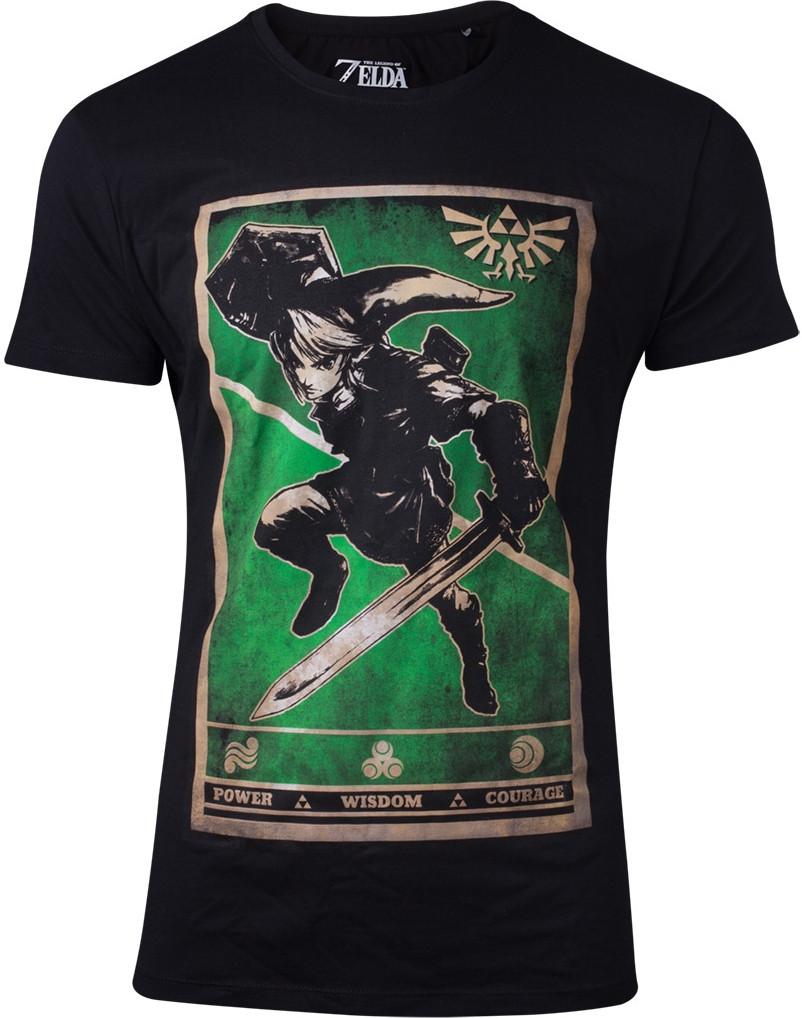 Zelda - Propaganda Link Triforce Men's T-shirt kopen