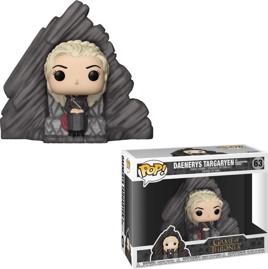 Game of Thrones Pop Vinyl: Daenerys Targaryen on Dragonstone Throne kopen