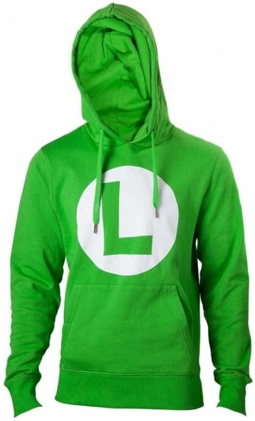 Nintendo - Hoodie With Luigi Logo