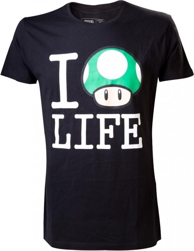 Nintendo T-Shirt I Mushroom Life
