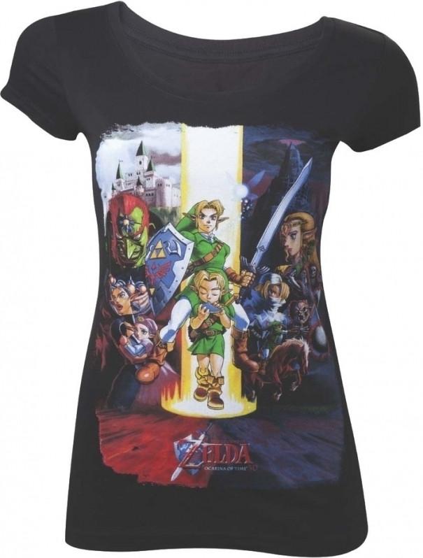 Zelda - Ocarina of Time Black T-Shirt