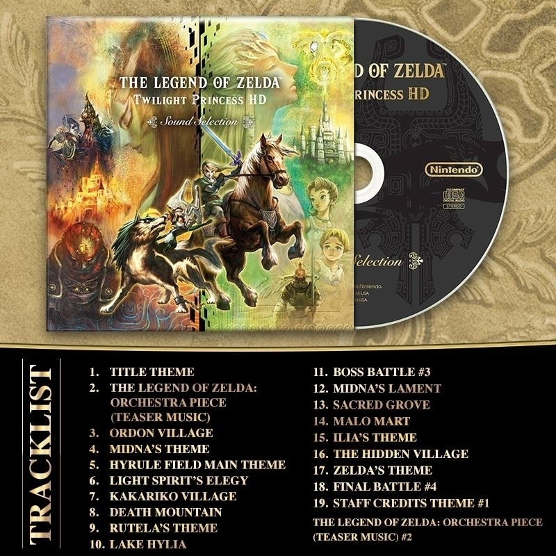 The Legend of Zelda Twilight Princess HD Sound Selection