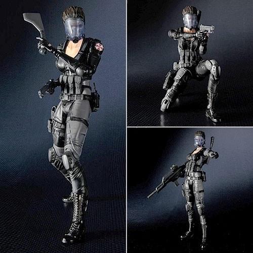 Resident Evil Operation Raccoon City Lupo Play Arts Kai