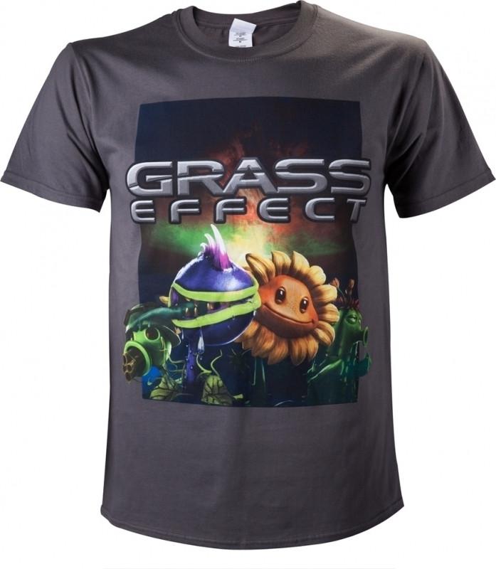 Plants vs Zombies T-Shirt Grass Effect