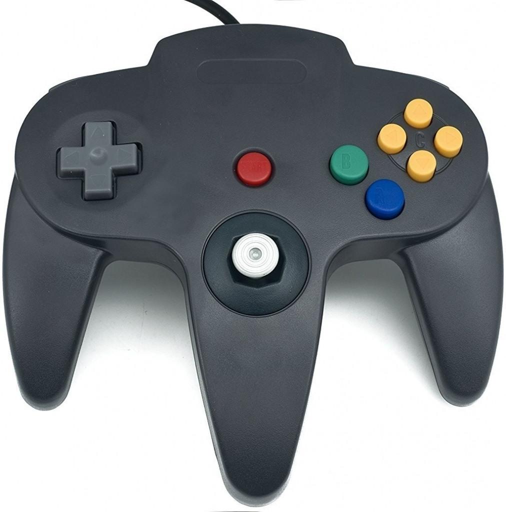 Nintendo 64 Controller Zwart (TTX Tech)