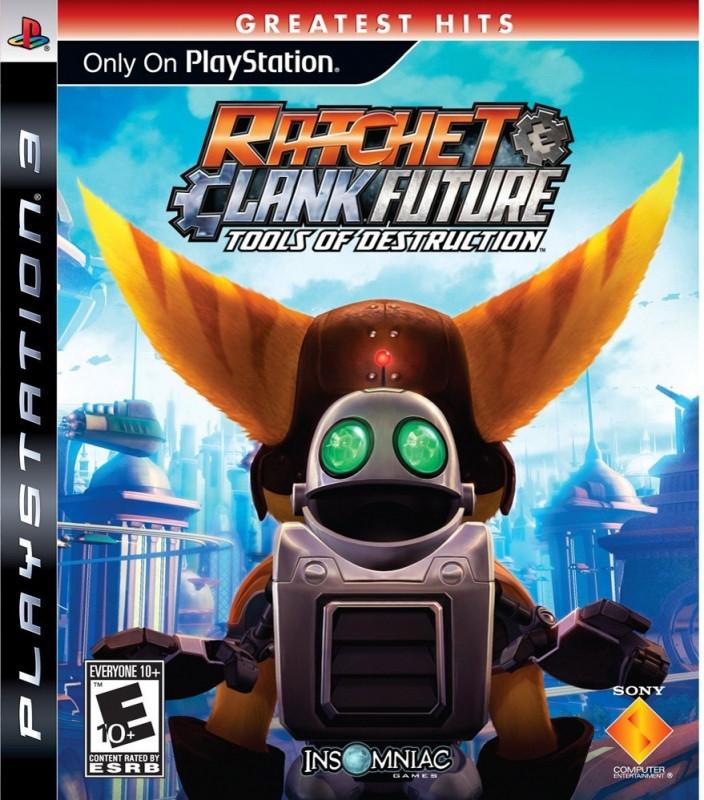 Goedkoopste Ratchet & Clank Tools of Destruction (greatest hits)