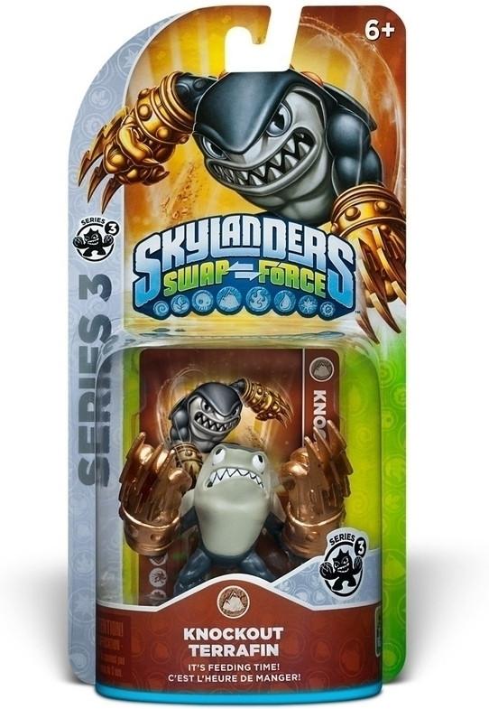 Skylanders Swap Force - Knockout Terrafin