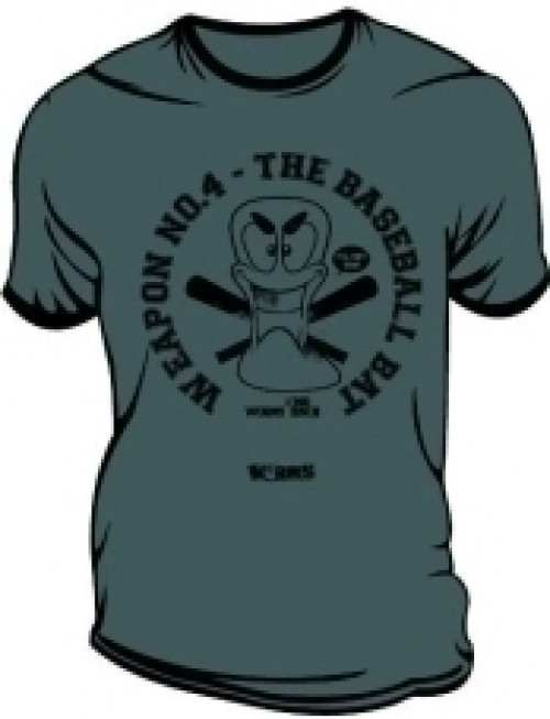 Worms T-Shirt Baseball Bat