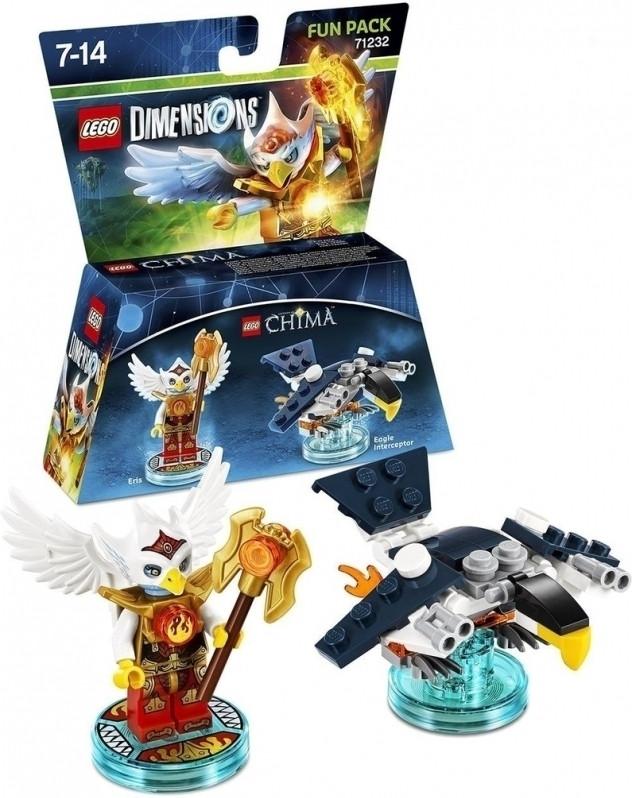 Een Lego Dimensions Fun Pack Chima Eris Warner bros te koop aangeboden