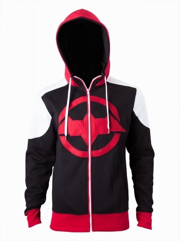 Batman Arkham Knight - Red logo Hoodie