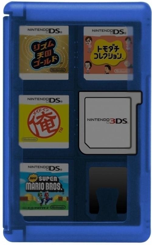 Hori Hori, Game Card Case 24 (Blue) 3DS (3DS-021U)