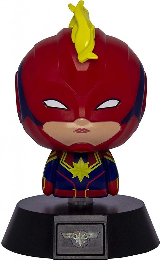 Marvel - Captain Marvel Icon Light