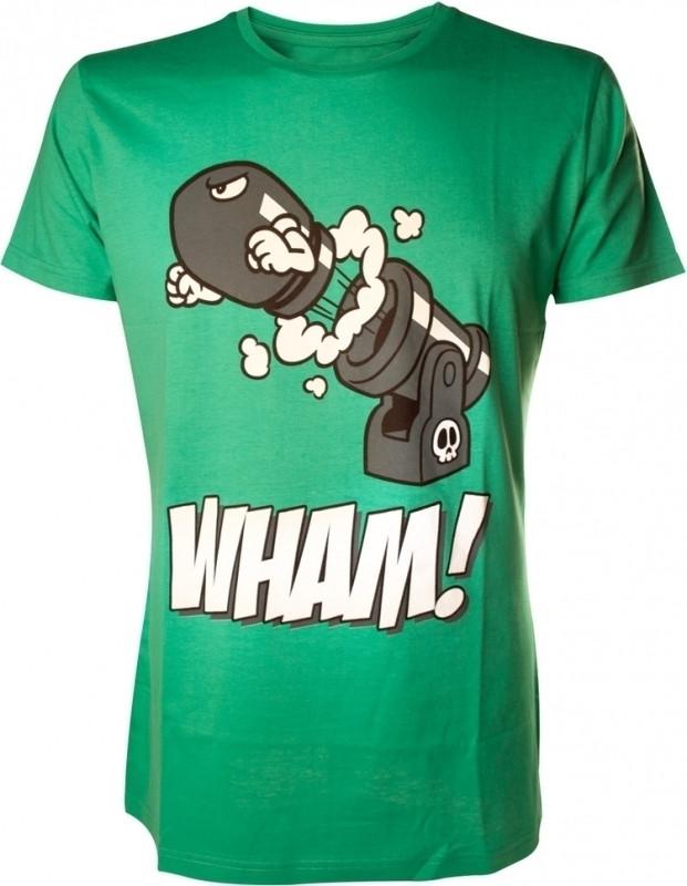 Nintendo T-Shirt Bomb Green