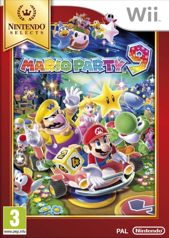 Goedkoopste Mario Party 9 (Nintendo Selects)