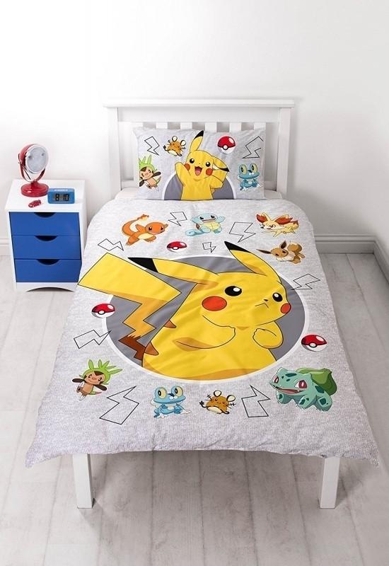 Image of Dekbedovertrek Pokemon catch 140x200cm