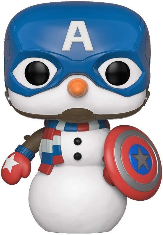 Marvel Pop Vinyl: Cap Snowman