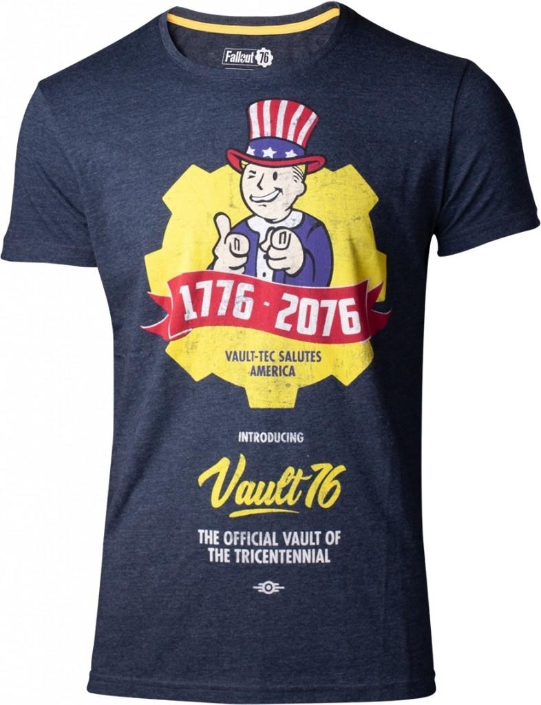 Fallout 76 - Vault 76 Poster Men's T-shirt kopen