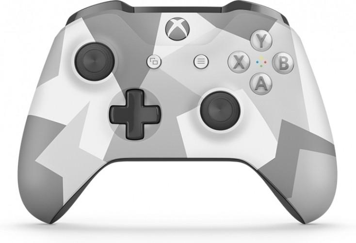 Microsoft Xbox One S Draadloze Controller Winter Camo