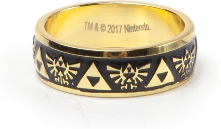Zelda - Gold Engraved Ring kopen